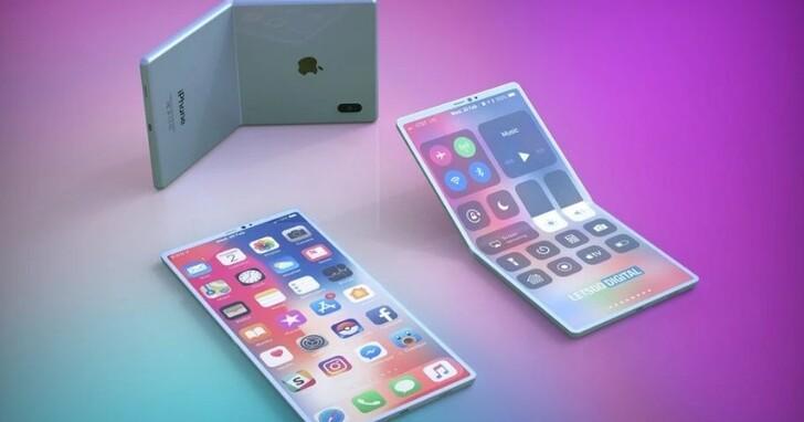 傳 LG 將提供柔性面板供蘋果開發摺疊 iPhone 使用