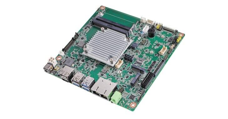 Advantech AIMB-218 Mini-ITX主機板搭載最新Elkhart Lake處理器
