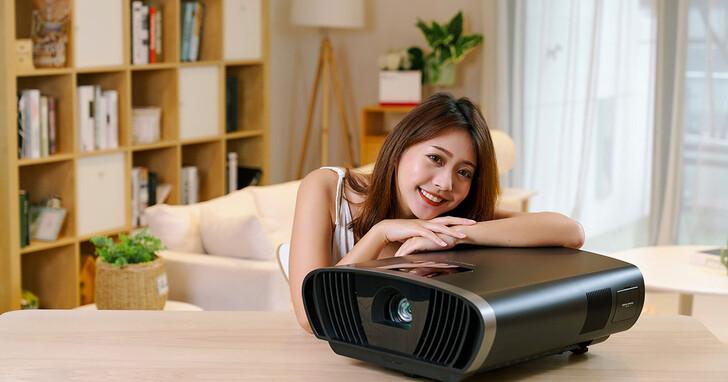 重塑旗艦新基準,ViewSonic X100-4K+ 真 4K HDR 投影機,精細影像創造深刻感動