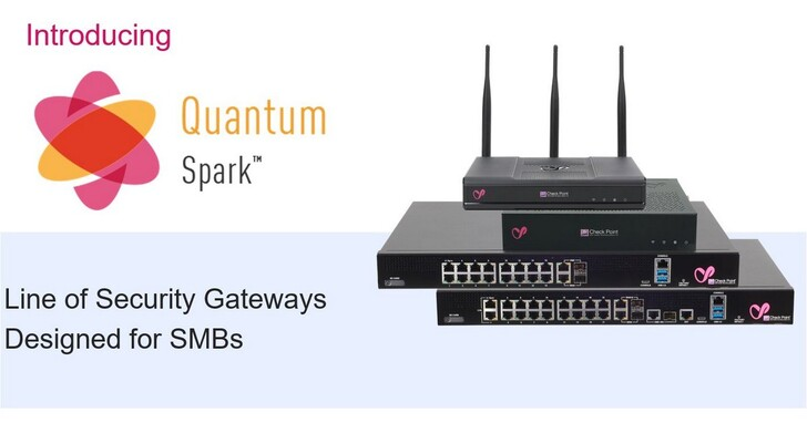 Check Point Quantum Spark安全閘道助中小型企業抵禦進階網路威脅