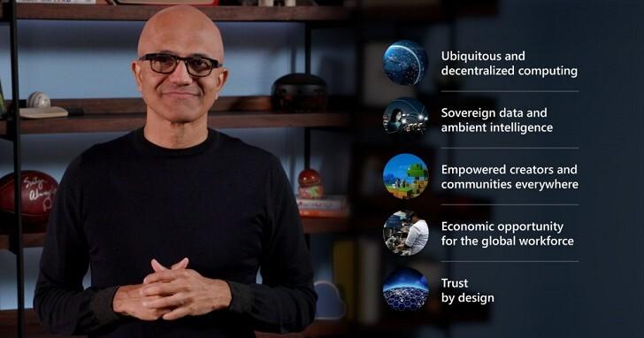 微軟發表 Microsoft Mesh 平台,將混合實境帶入沉浸式演講