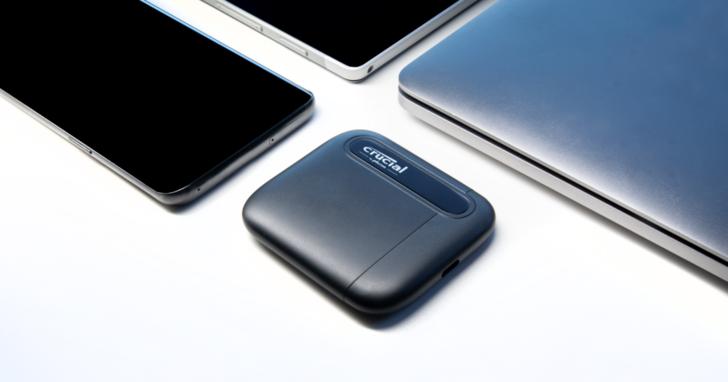美光Crucial新推出 4TB 和 500GB 版X6外接固態硬碟