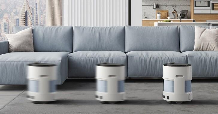 ECOVACS推出 AIRBOT AVA 移動型空氣淨化機器人,集聚淨化、移動、智能於一體