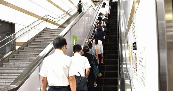 電扶梯上不可行走才安全,日本埼玉縣議會通過全日本首宗條例