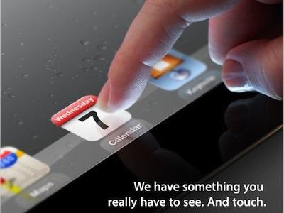 iPad 3 來了!將於3月7日發表