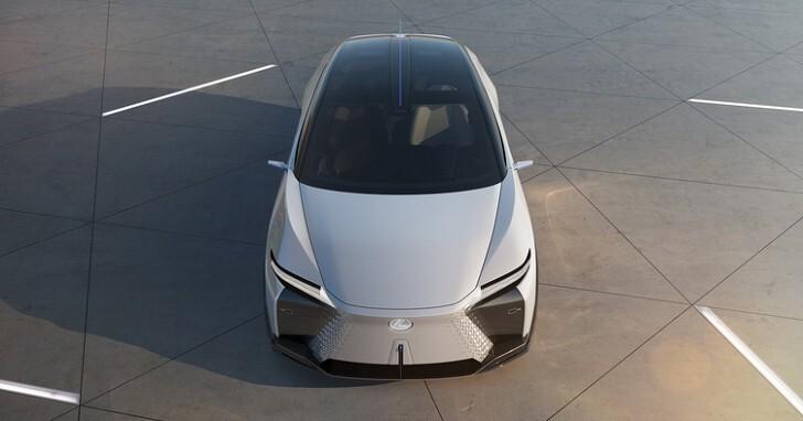 導入 AI 人工智慧,LEXUS 展示電動概念車 LF-Z Electrified