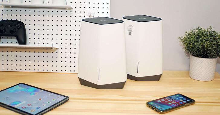 NETGEAR Orbi Pro SXK80 Wi-Fi 6 Mesh 系統開箱評測:強大收訊覆蓋大坪數, 4 組 SSID 更易分層控管!