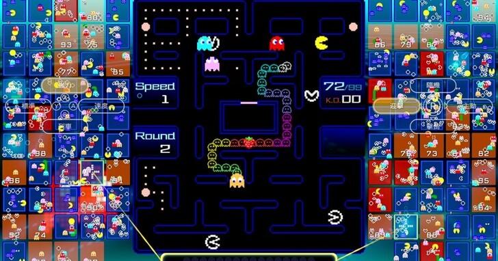 小精靈大逃殺!《Pac-Man 99》在任天堂 Switch 平台登場