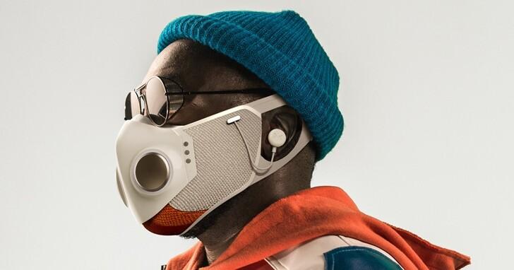 又一款高科技口罩推出!Honeywell與黑眼豆豆團長打造結合降噪耳機、RGB 燈效與 HEPA 濾網的口罩
