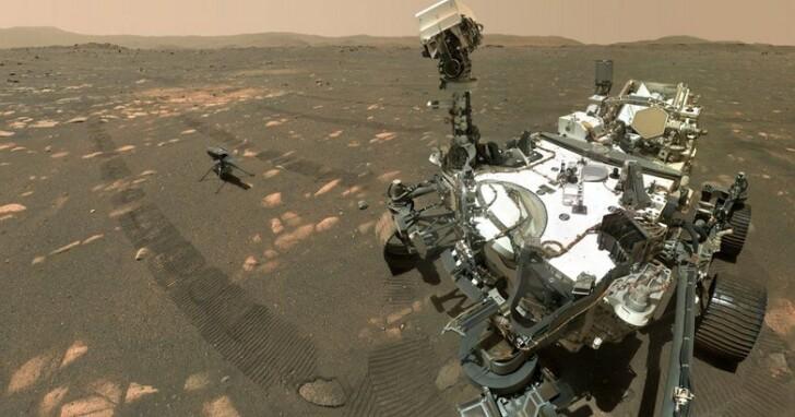 NASA無人機「獨創號」在火星完成離地40秒飛行記錄,成就堪比萊特兄弟首航