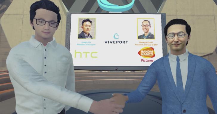 HTC與日本萬代南夢宮聯盟,全速發展日本動畫VR內容