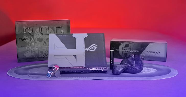 全球只有 3 台!ROG Strix Nyjah Huston 特製版,電競筆電與滑板的跨界合作