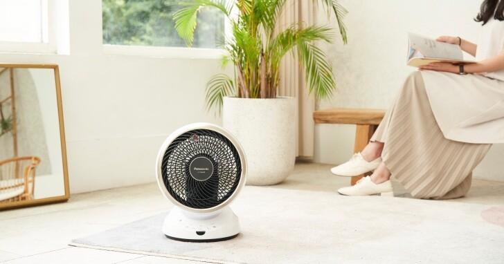 四季通用的冷暖房輔助利器!Panasonic F-E10HMD 循環扇評測:超長渦流多角度吹送