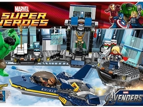 LEGO 復仇者聯盟英雄登場,用樂高呈現電影場景