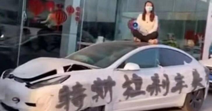 特斯拉在中國被眾多車主「維權」處境尷尬,在上海工廠的擴展計畫據傳已經暫停