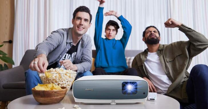 BenQ 推出 AndroidTV 平台無線智慧家用投影機系列,5 款新機主打短焦、高亮、低延遲