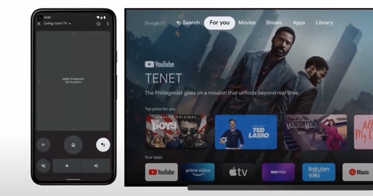 Google 預計為 Android 手機內建 Android TV 遙控功能