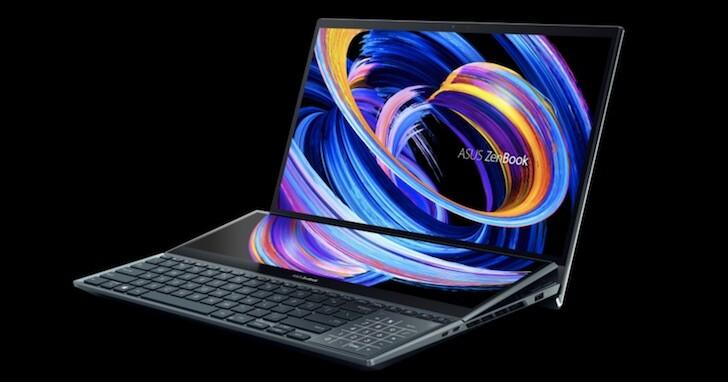 ASUS ZenBook Pro Duo 15 OLED 開賣,雙螢幕設計、售價 114,900 元