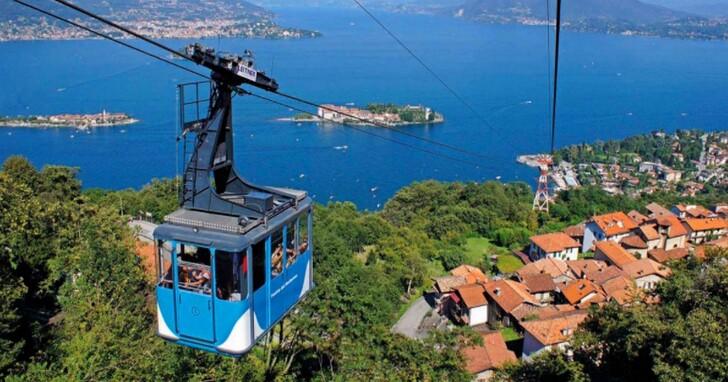 義大利觀光纜車高空發生纜索斷裂墜落,14人死亡