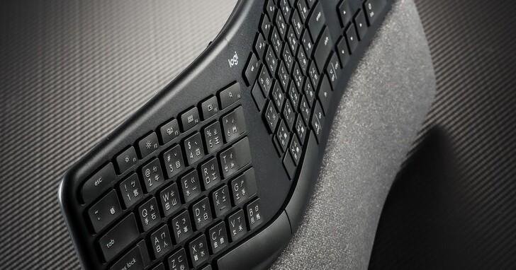 Logitech ERGO K860評測:支援雙模、站立工作也可以的無線鍵盤,售價3,990元