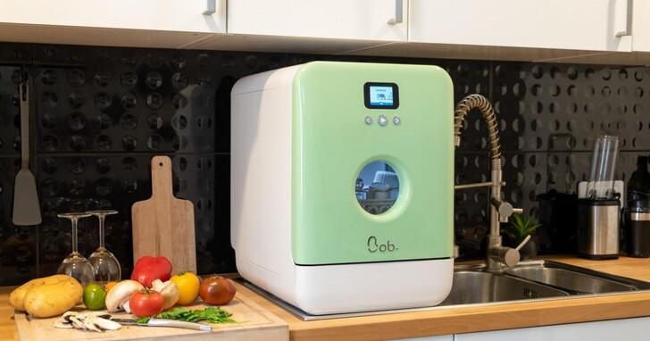 【COMPUTEX 2021 】法國 Daan Tech推出省水又殺菌的世界最迷你智慧洗碗機