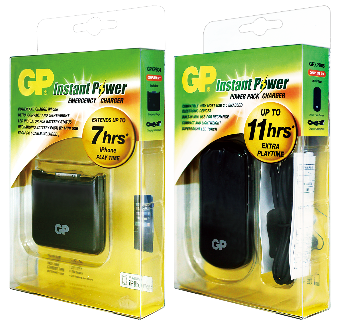 GP隨身充電器隨時為電子產品補充電力