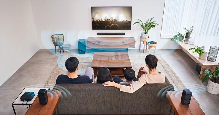 Sony HT-S40R超值家庭劇院組上市,無線連結輕鬆設定、售價9,990元