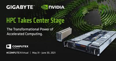GIGABYTE推出多款NVIDIA認證伺服器,搭載Ampere運算卡與BlueField-2資料處理器
