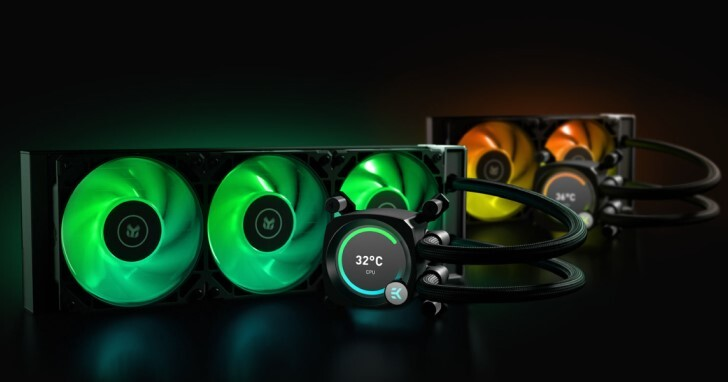 【COMPUTEX 2021】EKWB發表EK-Nucleus AIO水冷散熱器,多種尺寸還可顯示溫度