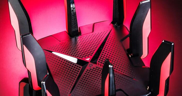 TP-Link Archer GX90 開箱評測:電競專用的三頻 WiFi 6 無線路由器