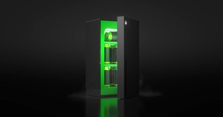 E3 21/Xbox 迷你冰箱正式發表、體積只夠冰10罐可樂,今年聖誕節假期上市