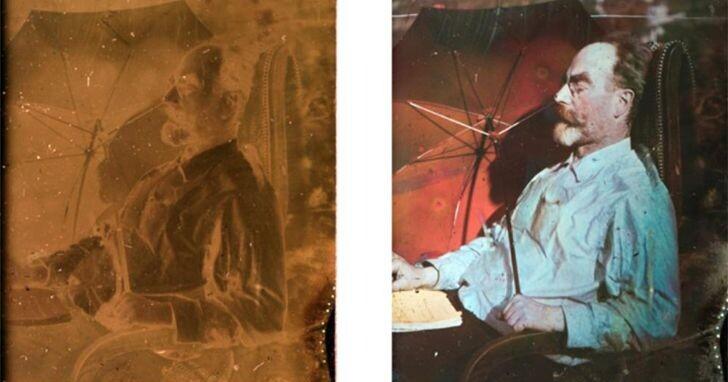 失傳100多年得了諾貝爾獎的彩色照相術,現在被找回來了