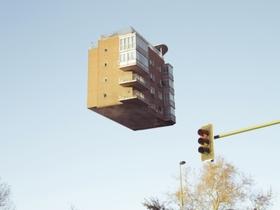 漂浮在天空中的公寓,No Way  Home 這怎麼可能!