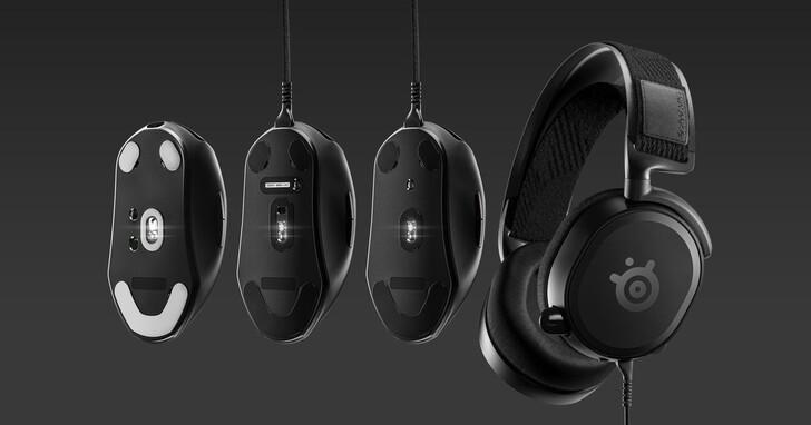 SteelSeries賽睿與電競選手共同研發推出Prime系列電競滑鼠及耳機
