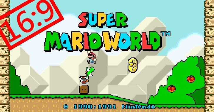 《超級瑪利歐世界》寬螢幕再更新,這次讓圖像顯示更完美