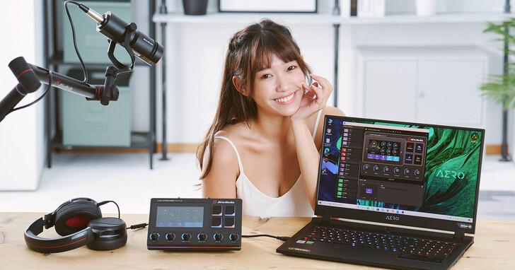 圓剛 Live Streamer NEXUS AX310 直播控制器開箱:直播客、實況主必備控場神器,同場加映黑鳩動圈式 XLR 麥克風 AM330!