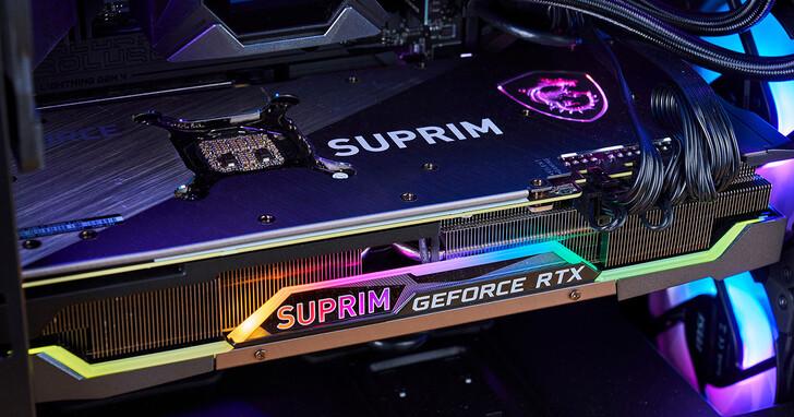 MSI GeForce RTX 3080 Ti SUPRIM X 12G 顯示卡實測:頂級效能不負期待,質感作工媲美精品等級!