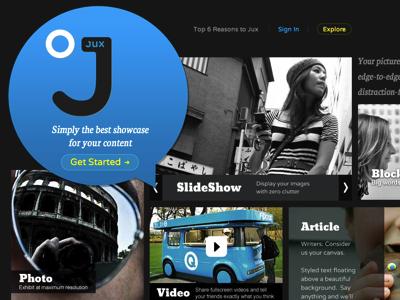 加入 Google 街景支援,最美麗的部落格服務 Jux 再升級