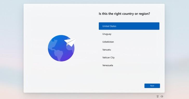 Windows 11引導設定介面OOBE大變臉,沒有微軟帳號將直接在安裝就卡關