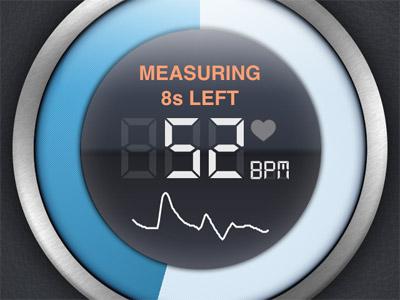 Instant Heart Rate:用手機記錄脈搏變化的健康管理 App