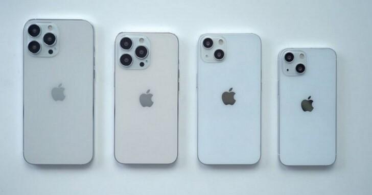 外媒iPhone 13全系列模型機上手:外觀尺寸與前代變化不大,相機模組直接大一圈