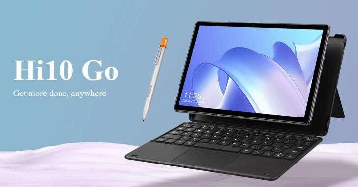 x86處理器配10.1吋Full HD螢幕,Chuwi Hi10 Go平板電腦可跑Windows 10