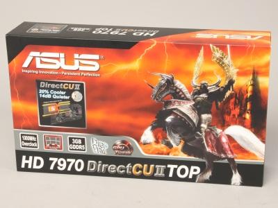 ASUS HD 7970 DirectCUII TOP 評測:安靜、功能多樣的豪華顯示卡
