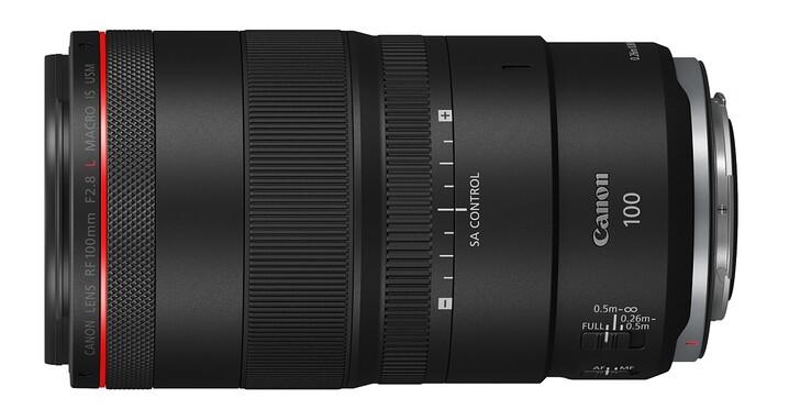 Canon 推出 RF 100mm F2.8L Macro,放大倍率達到 1.4x 且內建球面像差控制環
