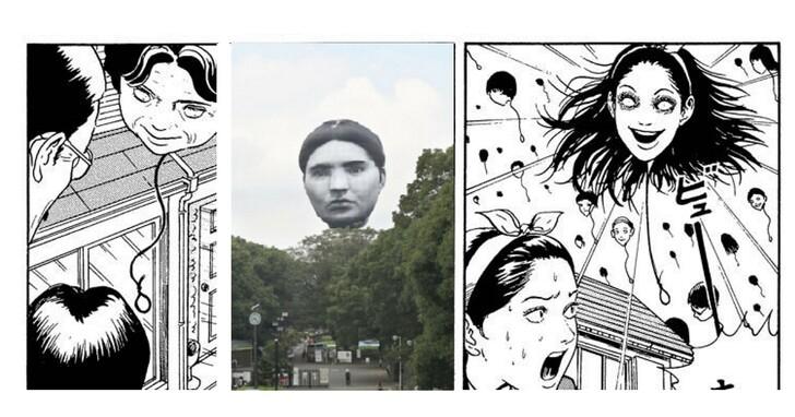 東京人臉氣球「限時聯動」?日本漫畫網站限免看伊藤潤二《吊首氣球》漫畫