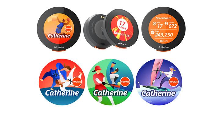 阿里巴巴贈送數位雲徽章給採訪東京奧運的媒體工作者