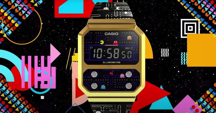 卡西歐推出《小精靈》主題  VINTAEGE A100 復古電子錶,價格約台幣3100元