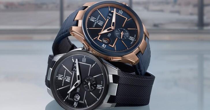 雅典錶經典重現,為旅人全新演繹42mm雙時區腕錶