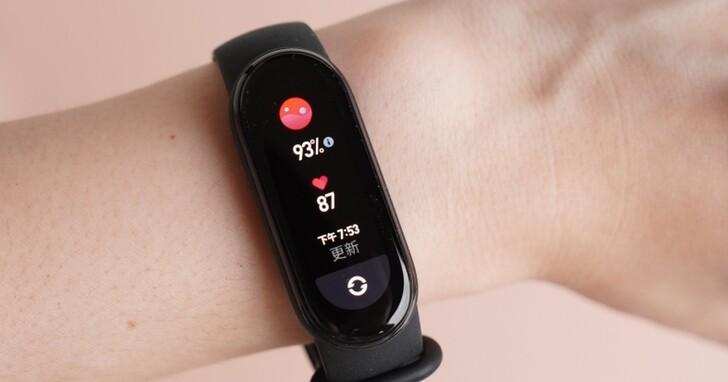 小米手環6 台灣版開箱評測:售價1,095 元,血氧偵測功能可靠嗎?