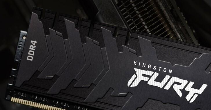 Kingston發表FURY Renegade DDR4記憶體,速度飆上DDR4-5333
